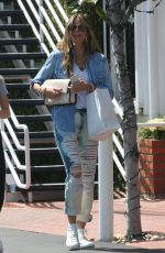 HEIDI KLUM Out Shopping in West Hollywood 05/05/2018
