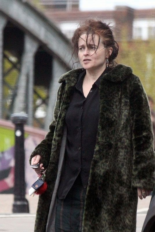 HELENA BONHAM CARTER Out and About in London 05/03/2018