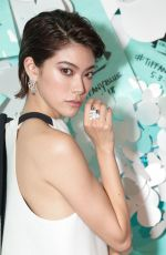 HIKARI MORI at Tiffany & Co. Jewelry Collection Launch in New York 05/03/2018