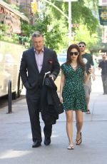 HILARIA and Alec BALDWIN Out and About in New York 05/24/2018