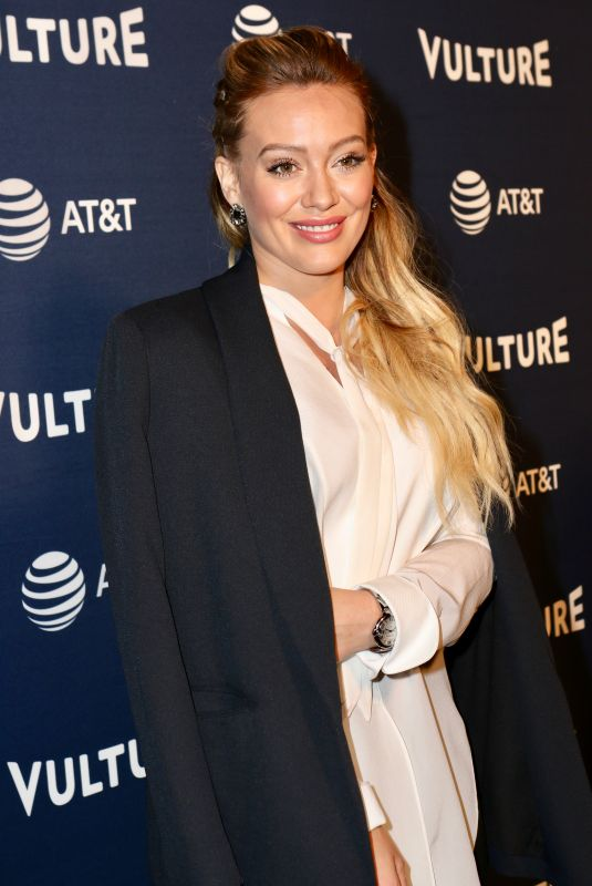 HILARRY DUFF at Vulture Festival in New York 05/19/2018