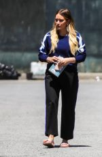 HILARY DUFF on the Set of Younger in New York 05/21/2018