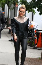 HILARY DUFF on the Set of Younger in New York 05/22/2018