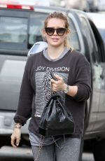 HILARY DUFF Out for Lunch in Los Angeles 05/26/2018