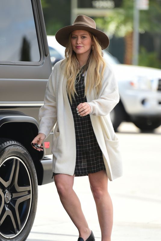 HILARY DUFF Out in Los Angeles 05/25/2018