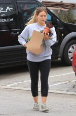 HILARY DUFF Out Shopping in Los Angeles 05/12/2018
