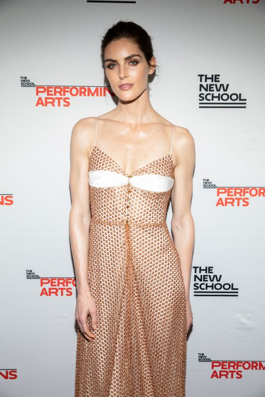 HILARY RHODA at New School 70th Annual Parsons Benefit in New York 05/21/2018