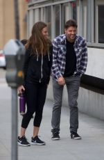 HILARY SWANK and Philip Schneider Out in Beverly Hills 04/30/2018