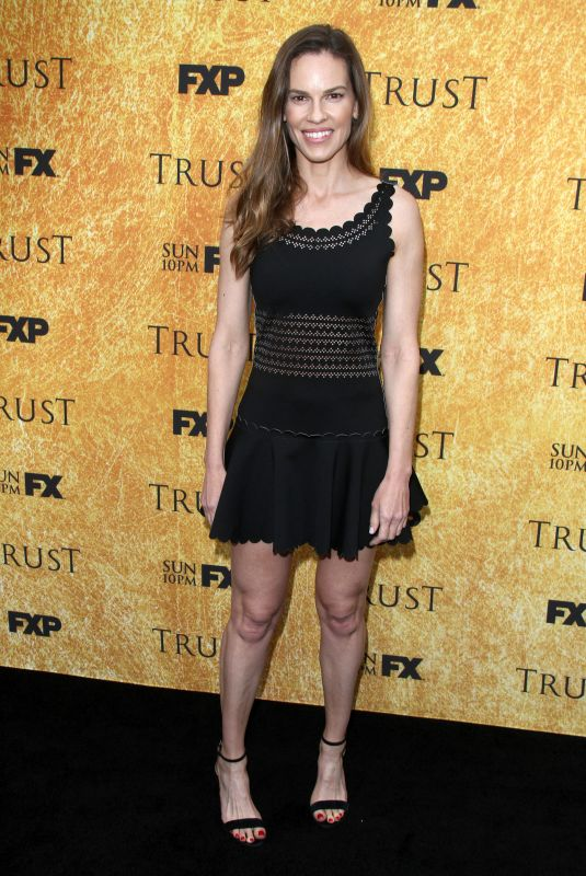 HILARY SWANK at Trust Premiere in Los Angeles 05/11/2018