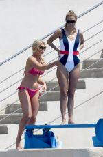 HOFIT GOLAN and VICTORIA BONYA in Swimsuit at Hotel Du Cap Eden-roc in Antibes 05/10/2018