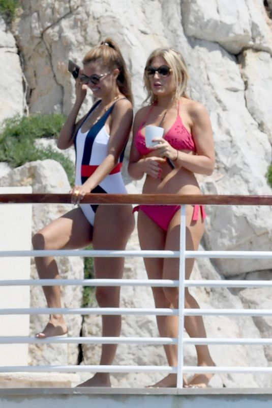 HOFIT GOLAN and VICTORIA BONYA in Swimsuit at Hotel Du Cap Eden-roc in Antibes 05/10/2018