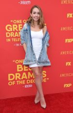 HOLLY TAYLOR at The Americans FYC Event in Hollywood 05/30/2018