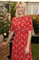 HOLLY WILLOGHBY at Chelsea Flower Show in London 05/21/2018