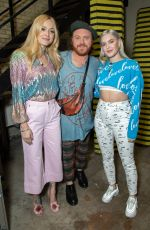 HOLLY WILLOGHBY, FEARNE COTTON, ANNE MARIE and ROCHELLE HUMES at Celebrity Juice in London 04/25/2018