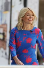 HOLLY WILLOUGHBY at ITV Studios in London 05/08/2018