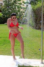 IMOGEN THOMAS in Bikini at a Pool in Marbella 05/10/2018