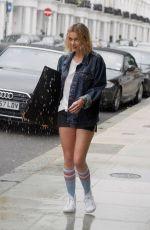 IMOGEN WATERHOUSE on the Set of Rain Stops Play in London 05/22/2018