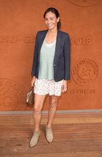 INES SASTRE at Village at Roland Garros in Paris 05/28/2018
