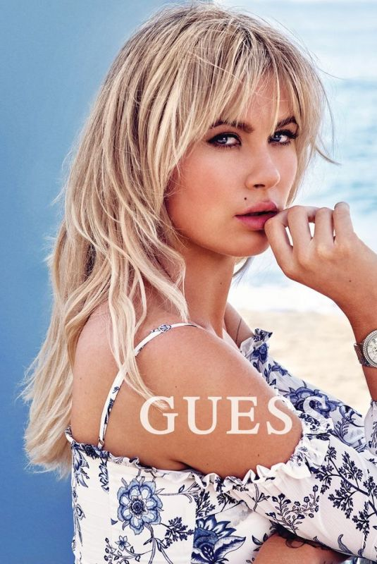 IRELAND BALDWIN for Guess Accessories Spring/Summer 2018 Campaign