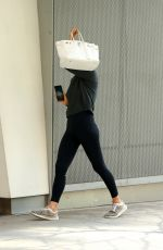 IRINA SHAYK Leaves a Gym in New York 05/03/2018