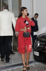IRINA SHAYK Leaves Her Hotel in Cannes 05/11/201