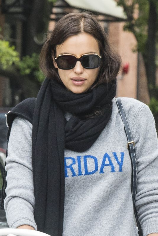 IRINA SHAYK Out and About in New York 05/18/2018