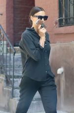 IRINA SHAYK Out and About in New York 05/21/2018