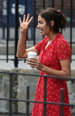 IRINA SHAYK Out and About in New York 05/23/2018