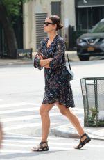 IRINA SHAYK Out Shopping in New York 05/26/2018