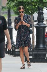 IRINA SHAYK Out Shopping in New York 05/26/2018