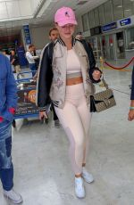 ISKRA LAWRENCE at Nice Airport 05/12/2018