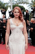 ISKRA LAWRENCE at Sink or Swim Premiere at 2018 Cannes Film Festival 05/13/2018