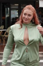 ISKRA LAWRENCE Out and About in Cannes 05/14/2018