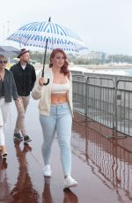 ISKRA LAWRENCE Out on Croisette in Cannes 05/13/2018