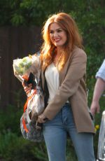 ISLA FISHER Arrives on the Set The Starling in Studio City 05/21/2018