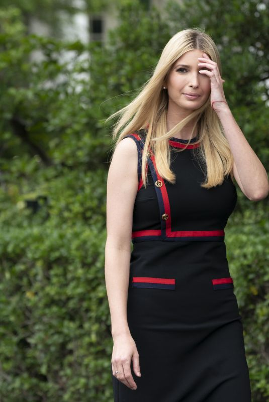 IVANKA TRUMP at White House Sports and Fitness Day in Washington D.C. 05/30/2018