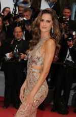IZABEL GOULART at Burning Premiere at 71st Annual Cannes Film Festival 05/16/2018