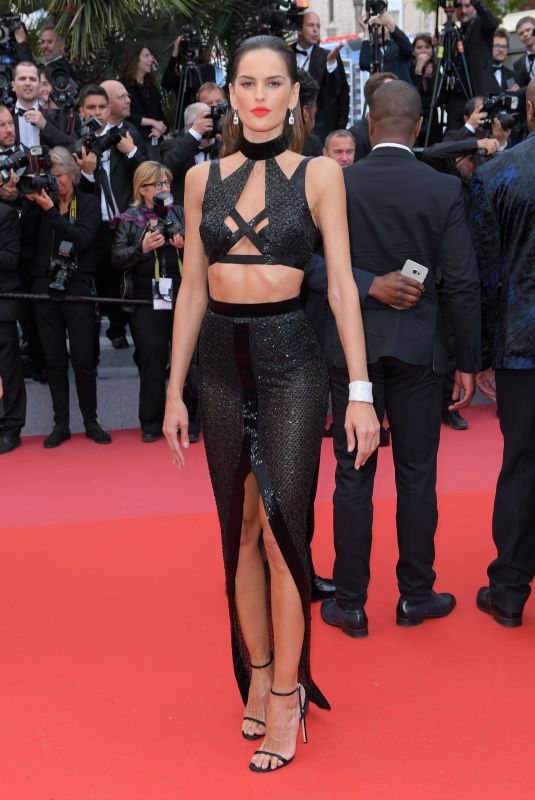 IZABEL GOULART at Solo: A Star Wars Story Premiere at Cannes Film Festival 05/15/2018