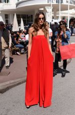 IZABEL GOULART Out and About in Cannes 05/14/2018