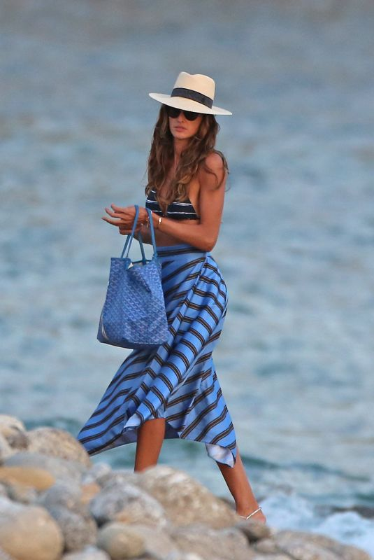 IZABEL GOULART Out in Ibiza 05/28/2018