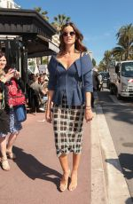 IZBEL GOULART Out and About in Cannes 05/15/2018
