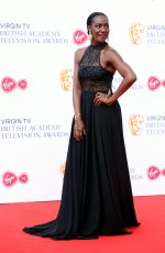 JACQUELINE BOATSWAIN at Bafta TV Awards in London 05/13/2018