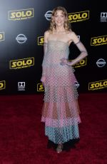 JAIME KING at Solo: A Star Wars Story Premiere in Los Angeles 05/10/2018