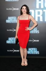 JAIMIE GOODWIN at Hotel Artemis Premiere in Los Angeles 05/19/2018