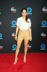 JAINA LEE ORTIZ at Disney/ABC/Freeform Upfront in New York 05/15/2018