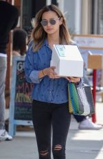 JAMIE CHUNG Out Shopping in Los Angeles 05/19/2018