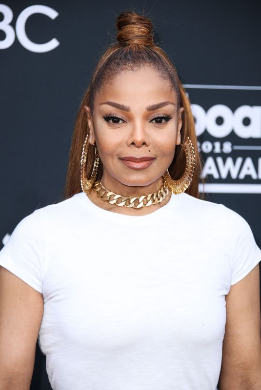 JANET JACKSON at Billboard Music Awards in Las Vegas 05/20/2018