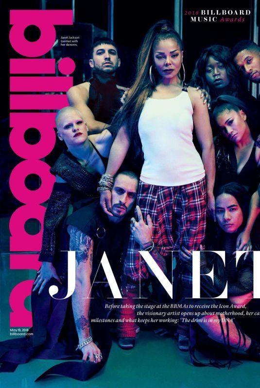 JANET JACKSON in Billboard Magazine, May 2018