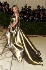 JASMINE SANDERS at MET Gala 2018 in New York 05/07/2018