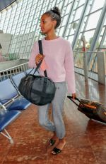 JASMINE TOOKES at Airport in Nice 05/13/2018